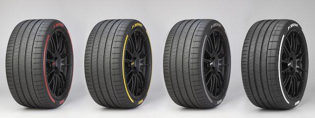 Pirelli Renkli ve Etkileşimli Lastik