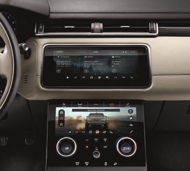 Yeni Range Rover Velar iç Görünüm