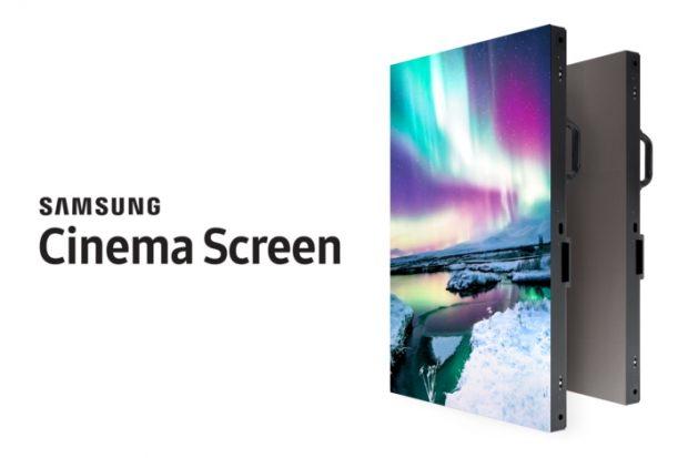 Samsung Cinema Screen 4K, Dünyanın ilk HDR LED Sinema Ekranı