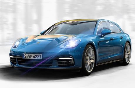 Porsche'den 2018 Panamera Sport Tourismo ve Panamera Turbo S E-Hybrid