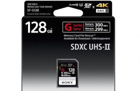 Sony Dünyanın En Hızlı SD Kartlarını Piyasa Sürdü, Sony SF-G Serisi