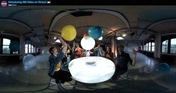 Vimeo 360 Derece Video Desteği Geldi, YouTube ve Facebook'a Rakip