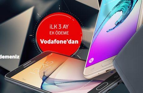 Vodafone 3 EK Ödeme Hediye Kampanyası, Galaxy A Serisi Vodafone'da!