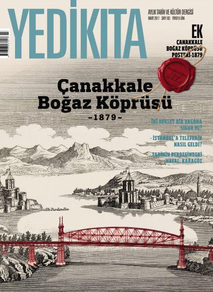 Yedikıta Dergisi Çanakkale Boğaz Köprüsü Kapağı