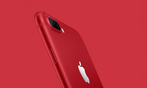 Apple, Özel Kırmızı iPhone 7 ve iPhone 7 Plus Satışa Sundu