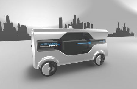 Ford'un Gelecek Vizyonu Autolivery, Ford'un Teslimat Filosu!
