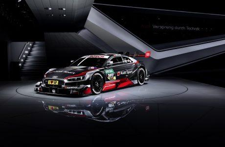 Audi'nin Yeni DTM Otomobili Audi RS5 DTM (2017) Piste Çıktı