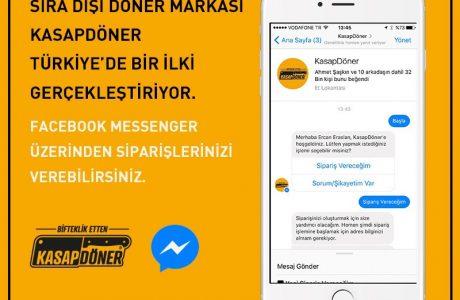 Facebook Messenger Üzerinden Döner Siparişi Nasıl Verilir?