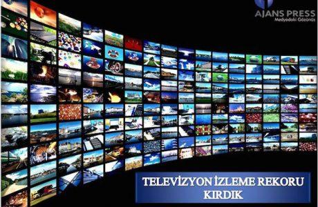 Diziler ve Survivor Sayesinde Televizyon izleme Rekoru Kırdık