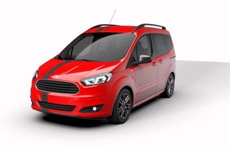 Yeni Ford Tourneo Courier Blackline Serisi Türkiye'de, 67 Bin TL
