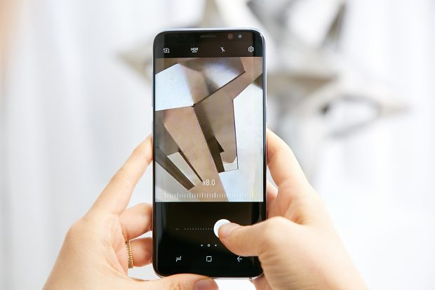 Samsung Galaxy S8 Gelişmiş Ön Kamerasıyla Selfi Sınırlarını Kaldırıyor