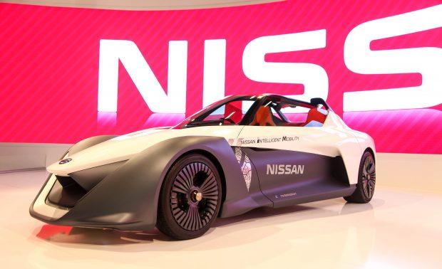 Sıfır Emisyonlu Spor Otomobil Nissan BladeGlider AutoShow 2017'de