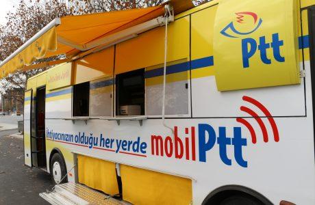 Mobil PTT, Hizmeti Ayağınıza Getiriyor, PTT Mobil Araçları Yollara Çıktı