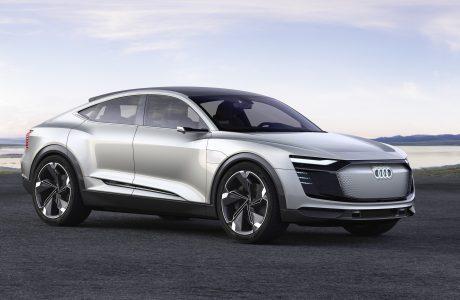 Audi e-Tron SportBack, Tek Şarjla 500 km Yol Alabiliyor
