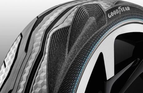 Goodyear CityCube, Toyota i-TRIL için Geliştirilen Konsept Lastiği
