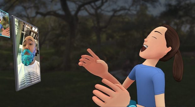 Facebook Spaces, F8 Konferansı'nda Tanıtılan Sanal Gerçeklik (VR) Uygulaması. 360 Derece Gif, Avatar Oluşturma, 3D Obje Çizimi, Arkadaş Davet