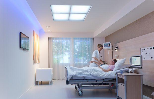 Philips HealWell, Hastalar için Sağlıklı Gün Işığı Sistemi Oluşturuyor