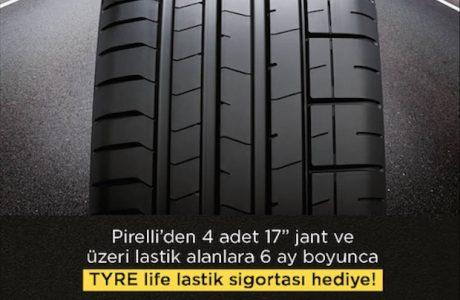 Pirelli'den Ücretsiz TYRELife Lastik Sigortası Kampanyası