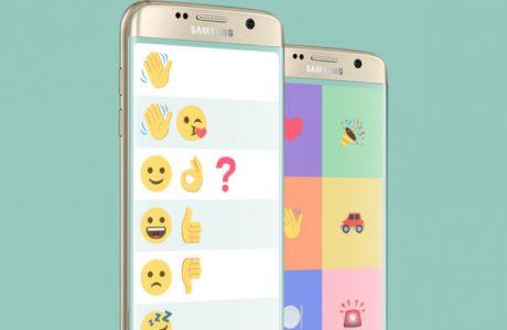 Samsung Wemogee, Dil Bozukluğuna Emoji Tabanlı Sohbet Uygulaması
