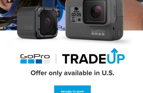 GoPro Değişim Programı Duyuruldu, ABD'de Yeni Hero5 100 Dolar İndirimli