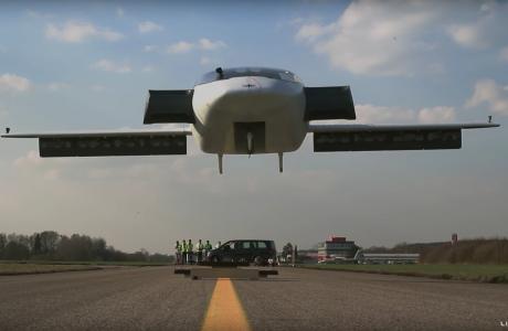 Lilium JET, Dünyanın ilk Elektrikli Dikey kalkış-iniş Yapabilen VTOL Jeti Havalandı