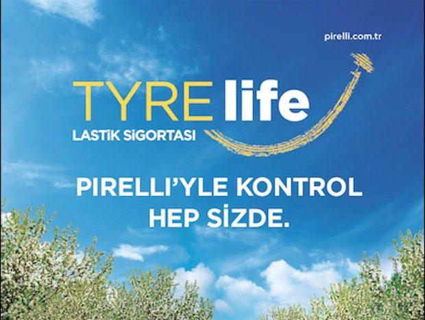 Pirelli'den Ücretsiz TYRE Life Lastik Sigortası Kampanyası