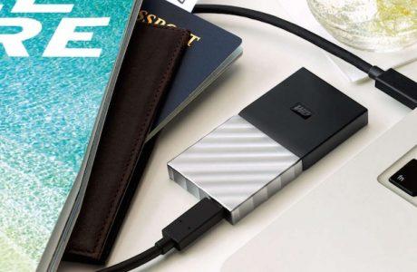 Western Digital ilk Taşınabilir SSD'sini Duyurdu, My Passport SSD 1TB