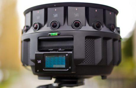 YI HALO, Google yeni 17'si Bir Arada 360 Derece Kamerası YI HALO'yu Duyurdu