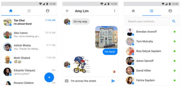 Facebook Messenger Lite Türkiye