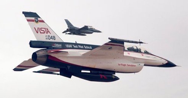 Otonom F16 Wingman, Özerk Sürüş Otomobilden Göklere Çıktı