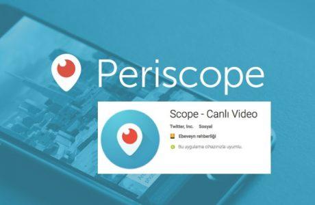 Periscope Türkiye'de Nasıl Scope Oldu? Periscope.tv Nasıl Pscp.tv Oldu?