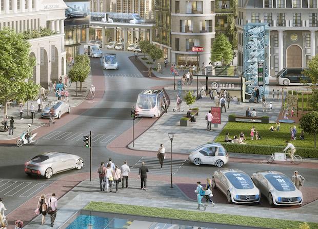 Bosch ve Daimler, Otomobili Sürücünün Ayağına Getiren Sistem Üzerinde Çalışıyor