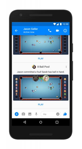 Messenger'a Yeni Oyunlar ve Özellikler