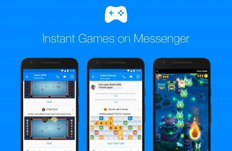 Facebook Messenger'a Yeni Oyunlar ve Özellikler Eklendi