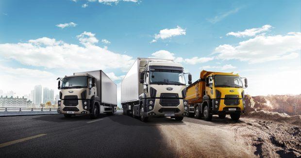 """Ford Trucks """"Yolunuza Sağlık"""" Hizmeti, 0 Km Alan Herkese 7/24 Ücretsiz"""