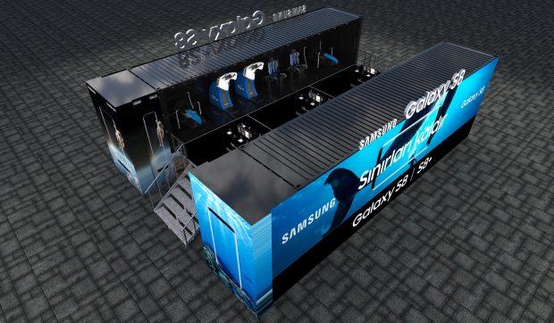 Samsung Galaxy S8 Sanal Gerçeklik Tırı, TÜRKİYE Turuna Başladı