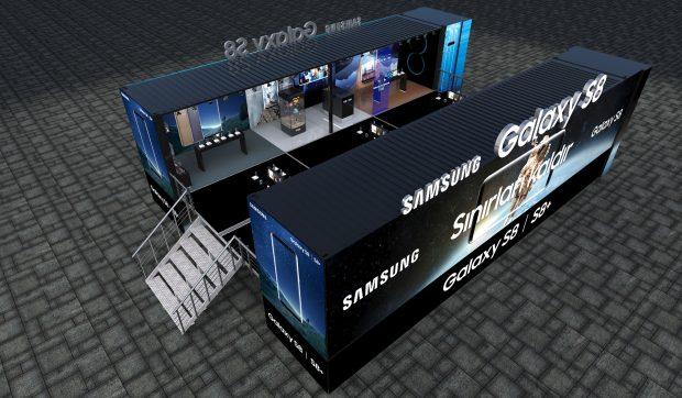 Samsung Galaxy S8 Sanal Gerçeklik Tırı