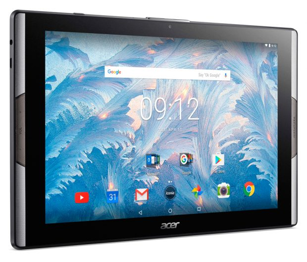Yeni Acer Iconia Tab 10, Quantum Nokta Ekranlı 10 inç'lik yeni Tablet