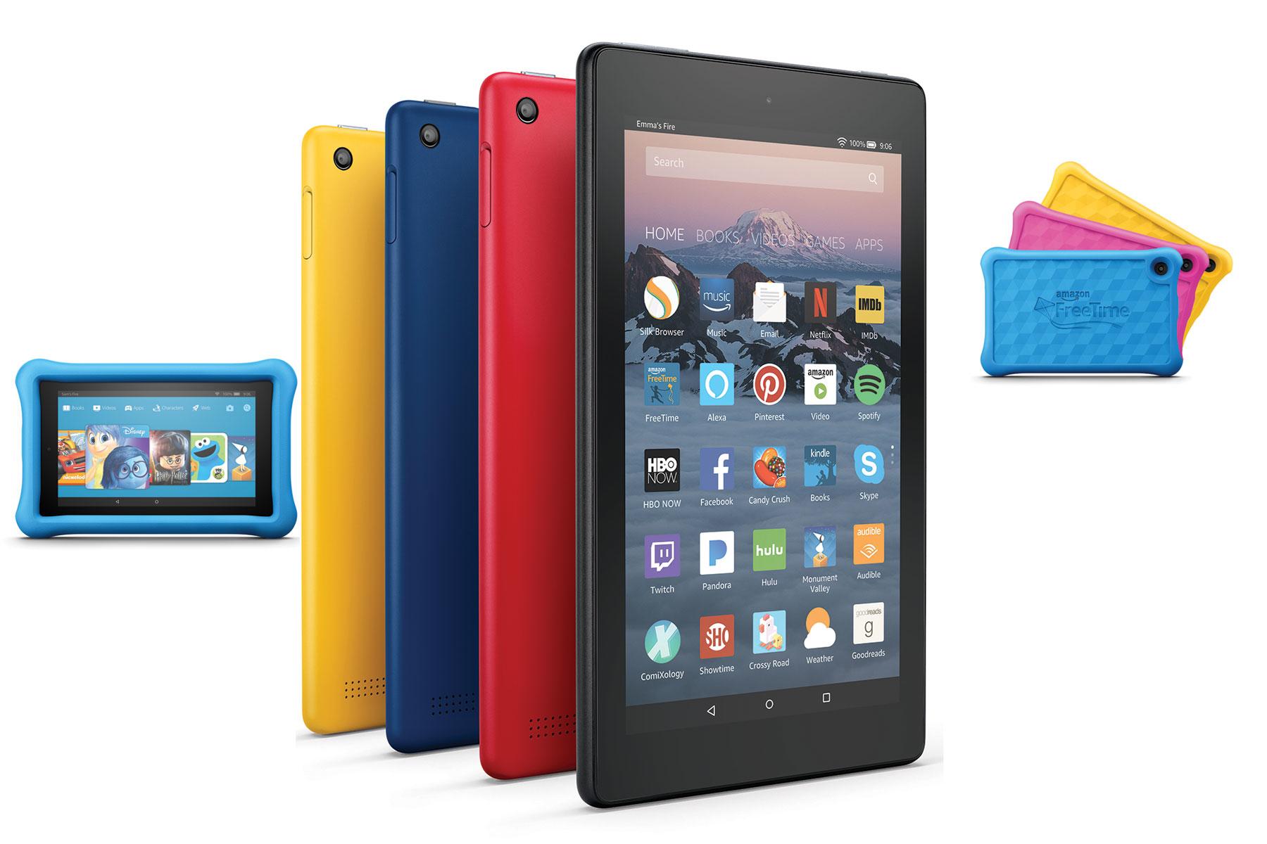 Yeni Amazon Fire Tabletler, Şimdi Hem Daha ince Hem Daha Ucuz!