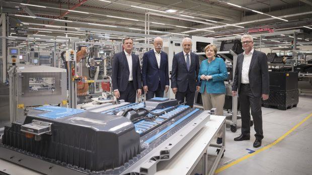 Mercedes-Benz'in Sahibi Daimler Yeni Pil Fabrikası Kurdu