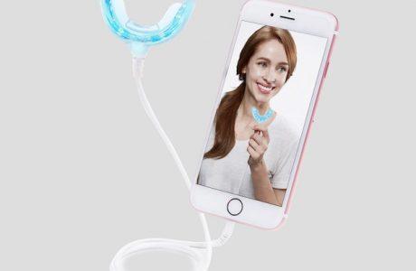 Akıllı Telefonla Dişlerinizi Beyazlatmak Mümkün, Dr. White Deneyin!