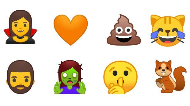 Android O Emojileri Daha Geniş Renk Yelpazesi ile Yeniden Tasarlanıyor