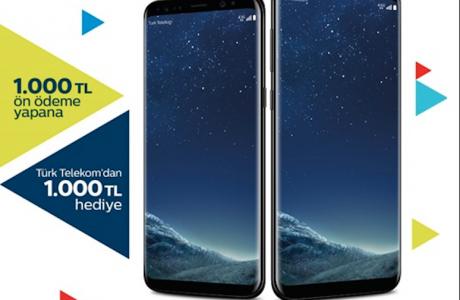Türk Telekom'dan 1000 TL indirimli Galaxy S8 ve Galaxy S8 Plus Fırsatı