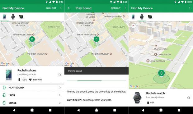 Find My Device, Android Cihaz Yöneticisinin Yeni Adı, Cihazımı Bul!