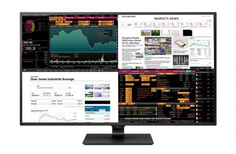 LG'nin 4 Ekranı Bir Araya Koyduğu Yeni 4K Monitörü, LG 43UD79-B