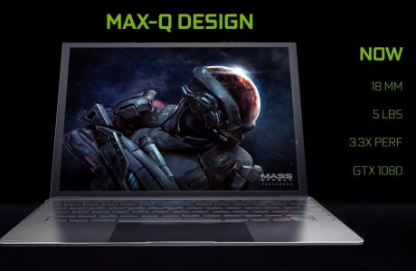 NVIDIA MAX-Q Dizüstü Oyun Bilgisayarı PS4 Pro'dan Yüzde 60 Daha Hızlı