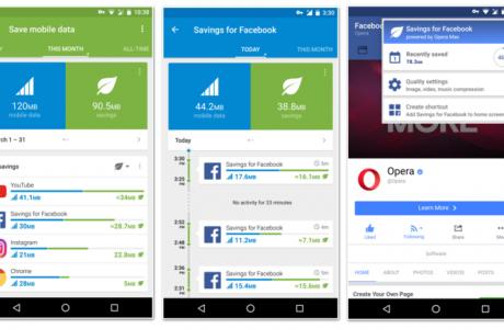 Opera Max 3 Facebook Veri Tüketiminden Yüzde 50 Tasarruf Sağlıyor