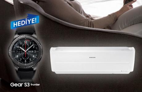 Samsung WindFree Klima Alana Gear S3 Hediye Kaçırmayın!