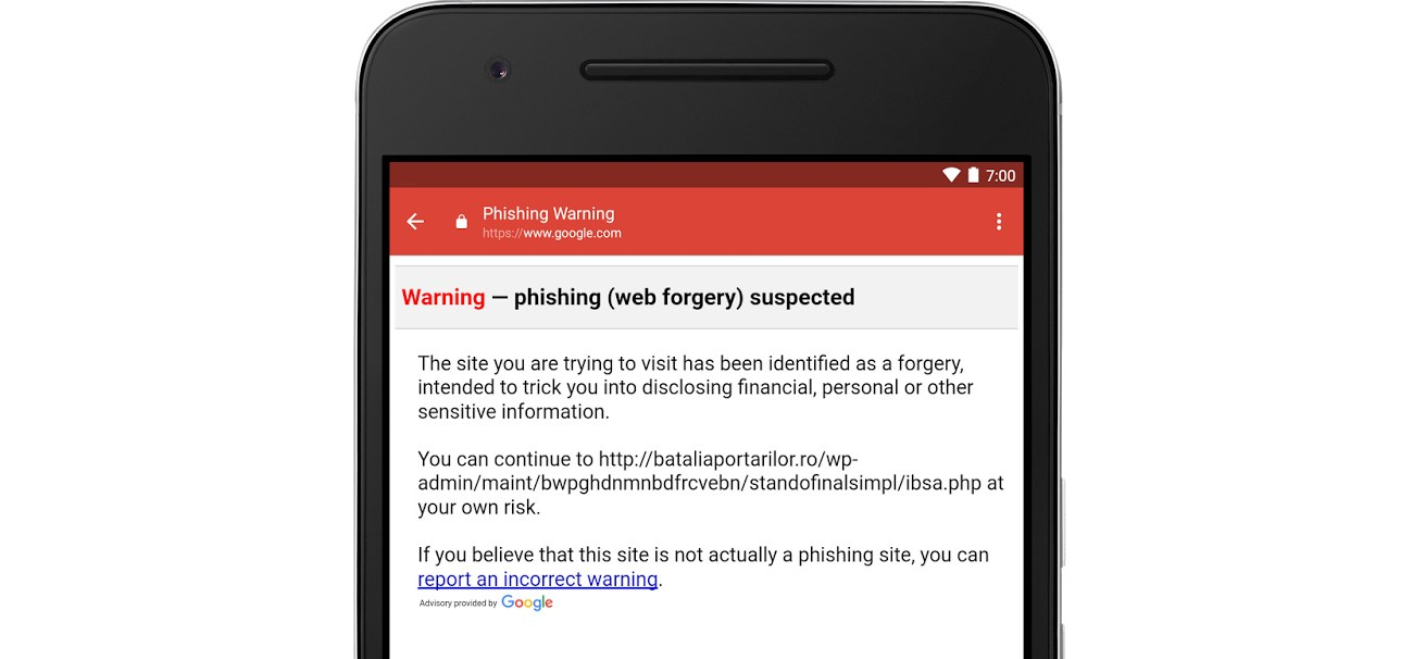 Gmail Android Kimlik Avı Saldırılarına Karşı Yeni Önlemler Getirdi
