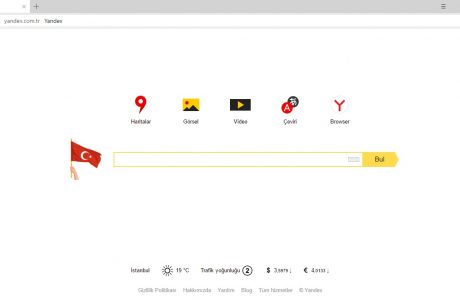 Yandex'ten 19 Mayıs'a Özel LOGO, Yandex 19 Mayıs Logosu
